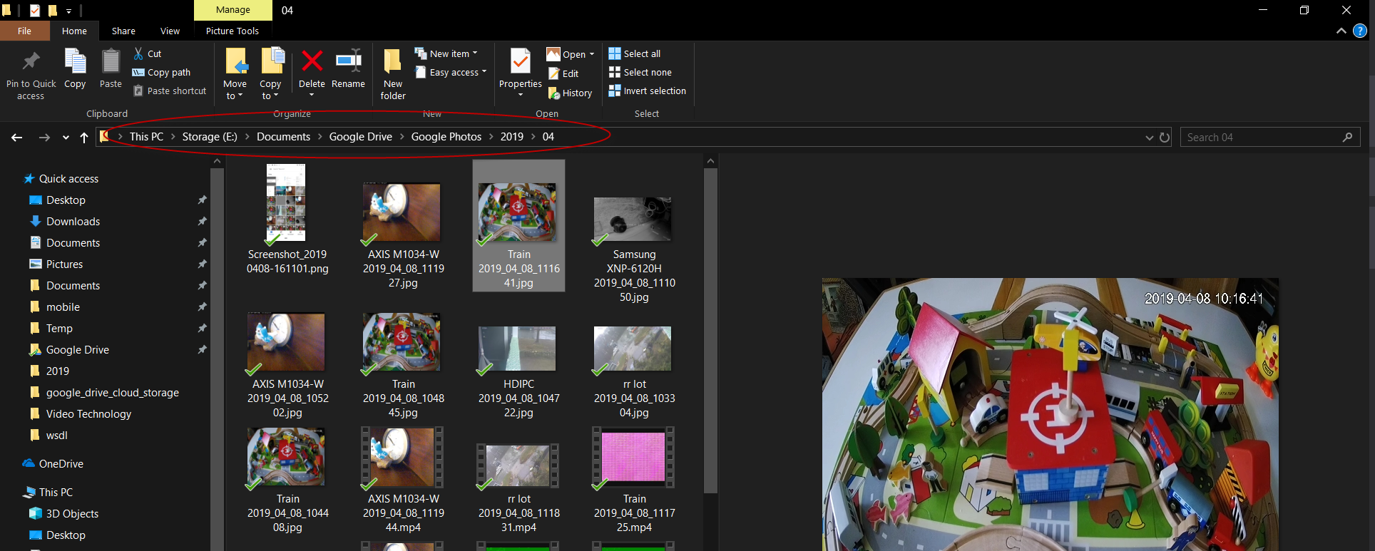How to use Google Drive as IP cameras' cloud storage